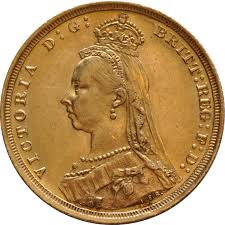 Victoria Jubilee Head Sovereign