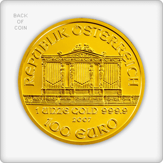 Philharmonic gold coin