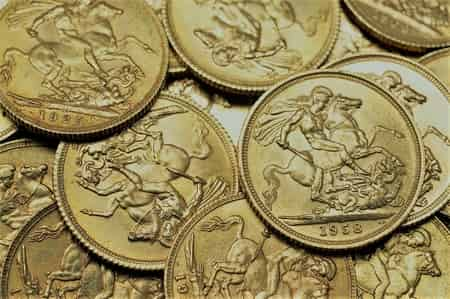 price of gold coins