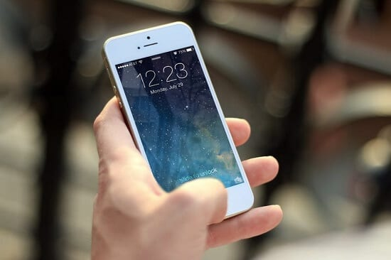 gold in mobile phones