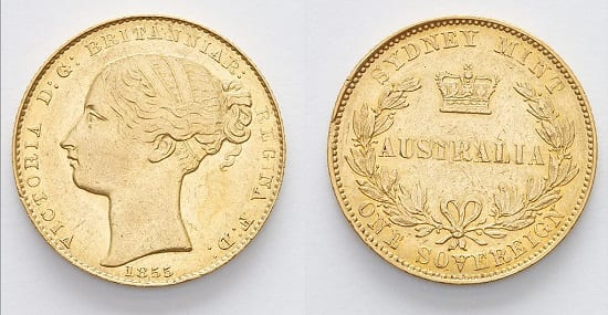 Difference between a Gold Sovereign and a Half Sovereign