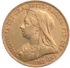 Victoria Old Head Sovereign