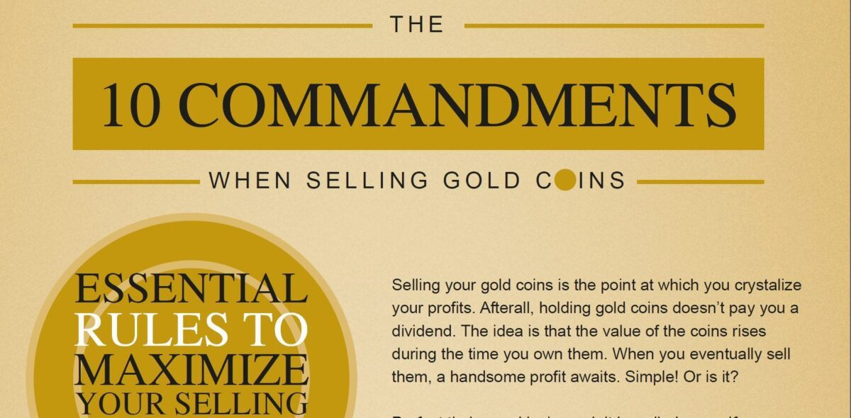 Selling gold coins
