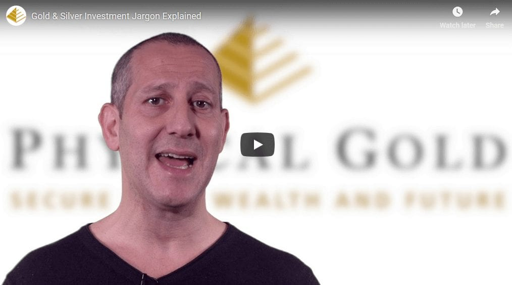 Gold & Silver Investment Jargon