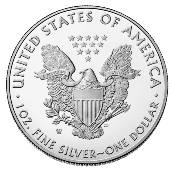 The American Eagle is an example of a popular silver investment coin